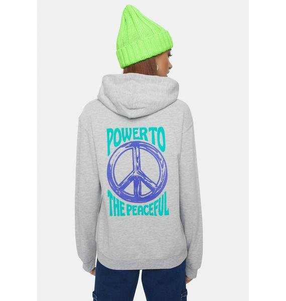 Obey Chromed Out Boxed Fit Pullover Hoodie