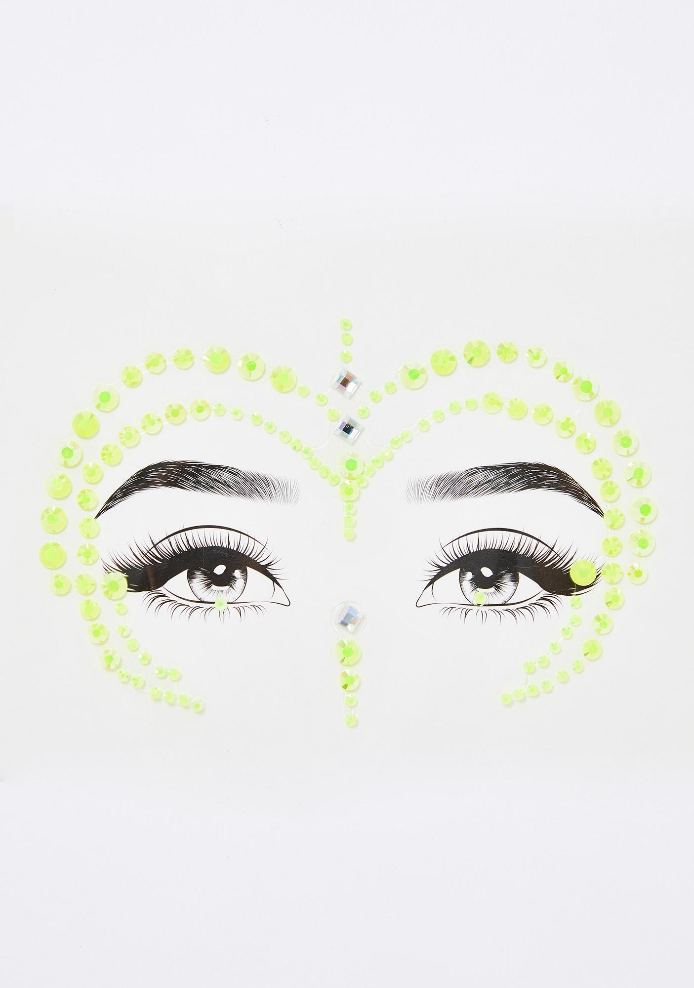Nuclear Vision Face Gems