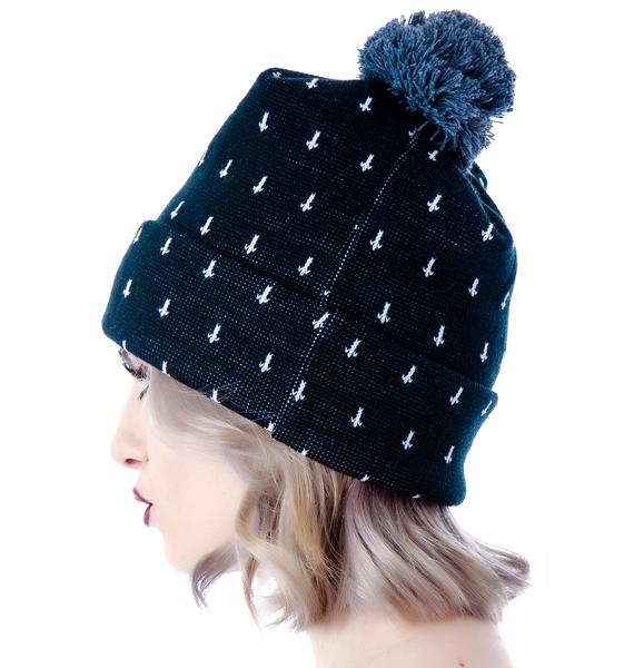Abandon Ship Apparel Cross Bobble Beanie