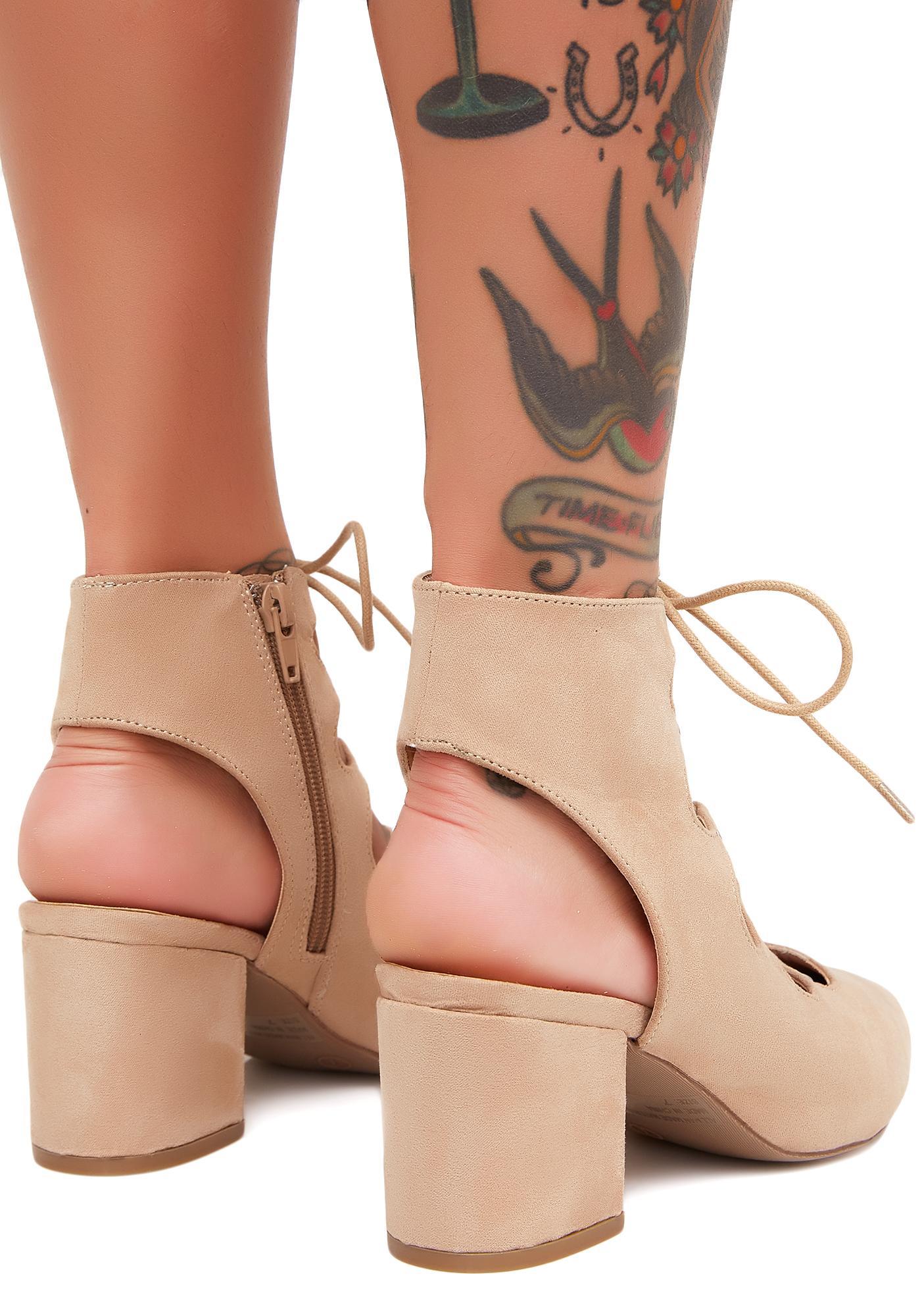 Natural Veruca Salt Heels