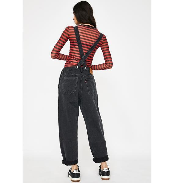 Levis Loose Cannon Baggy Overalls