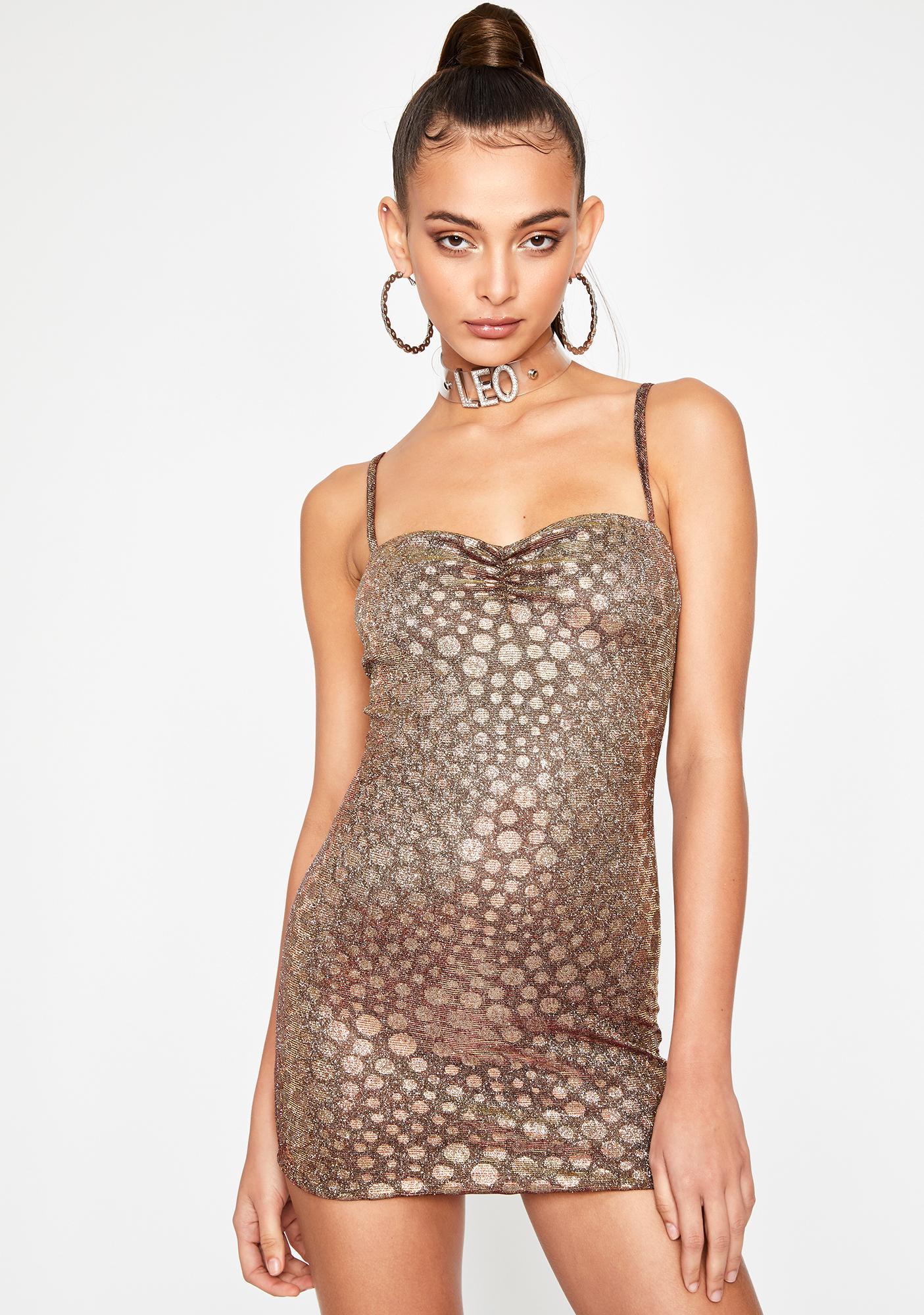 HOROSCOPEZ On The Prowl Mini Dress