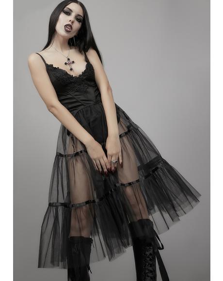 Haunting Melody Midi Dress