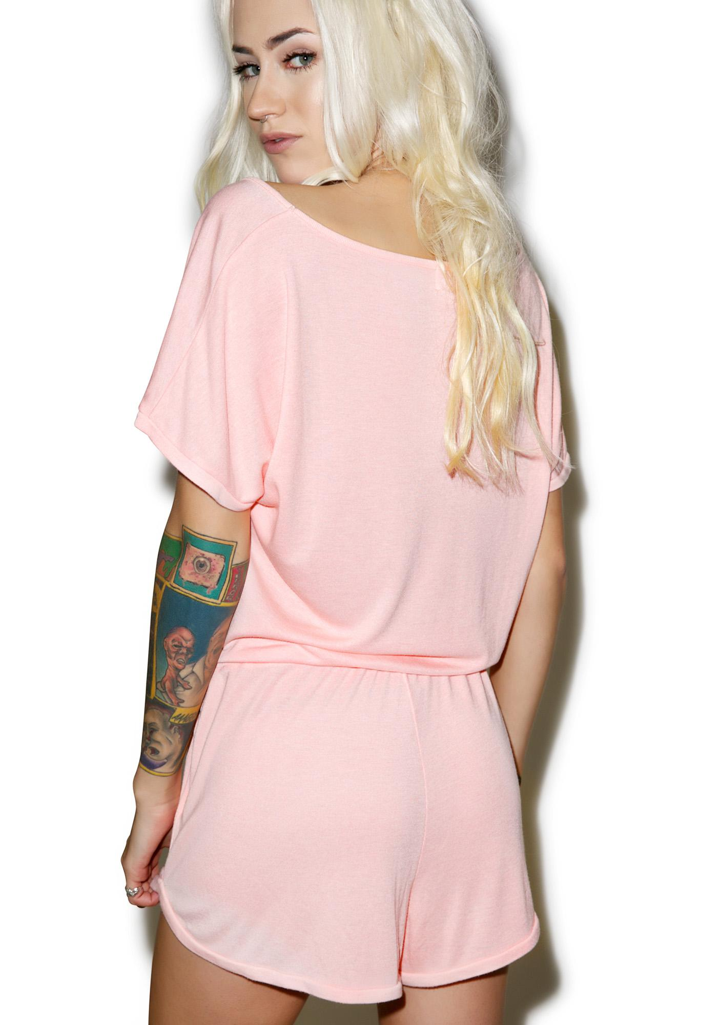 Wildfox Couture You're My Type All Day Romper