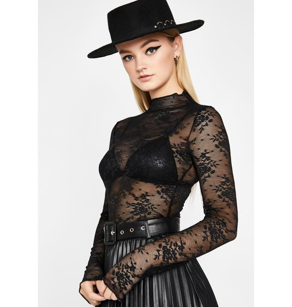 Rose From The Dead Mesh Shirt