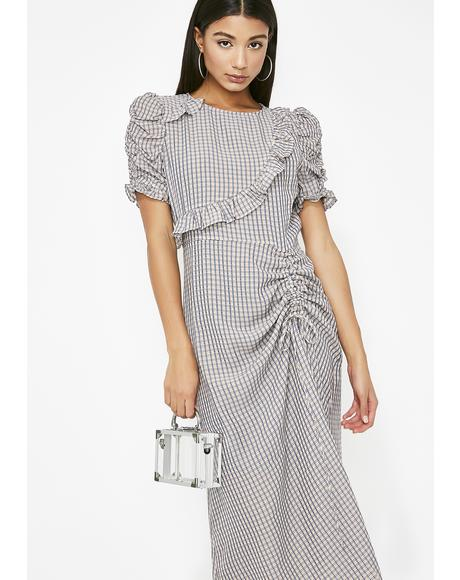 Kindness Killer Plaid Dress