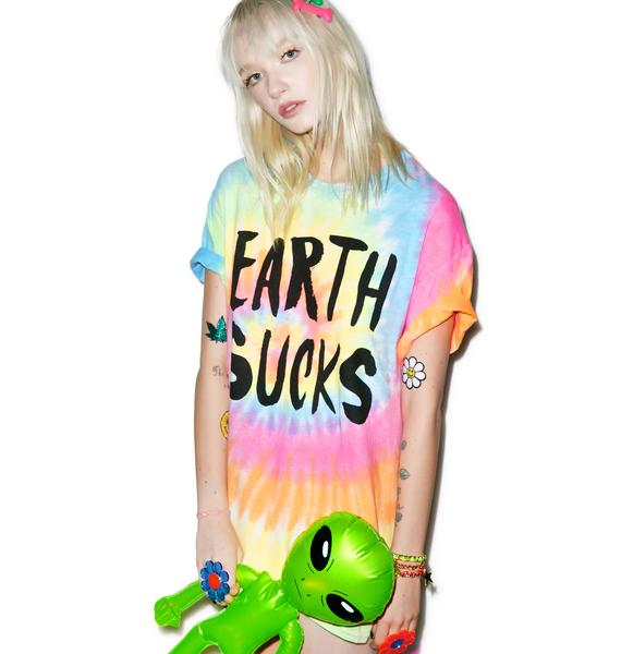Burger And Friends Earth Sucks Tee