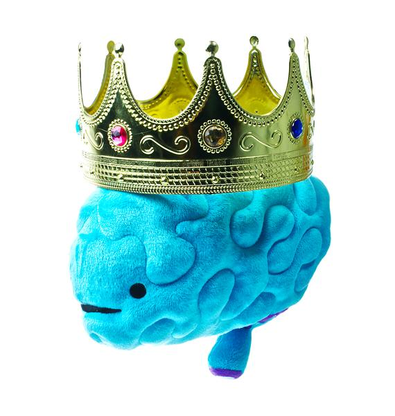 I Heart Guts Brain Plushie