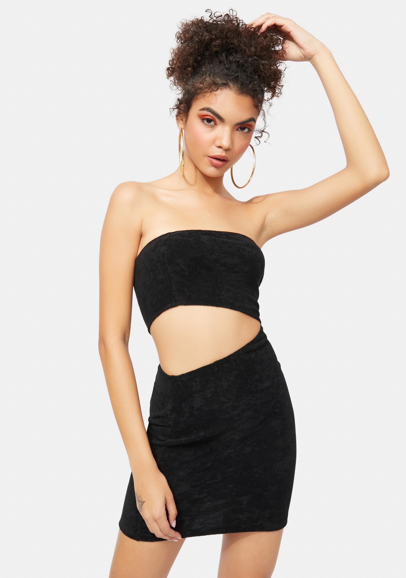 Hottie In Hollywood Cutout Bodycon Dress