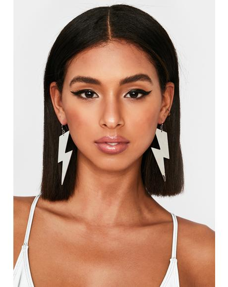 Telling The Truth Drop Earrings