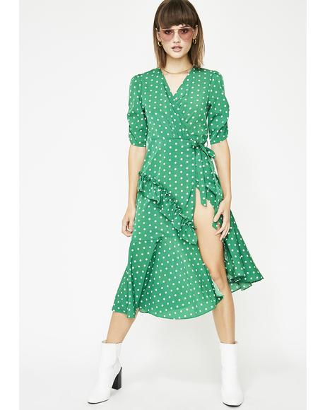 Feelin' Dotty Polka Dot Dress