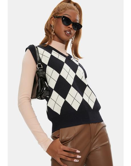Rhombus Sweater Vest