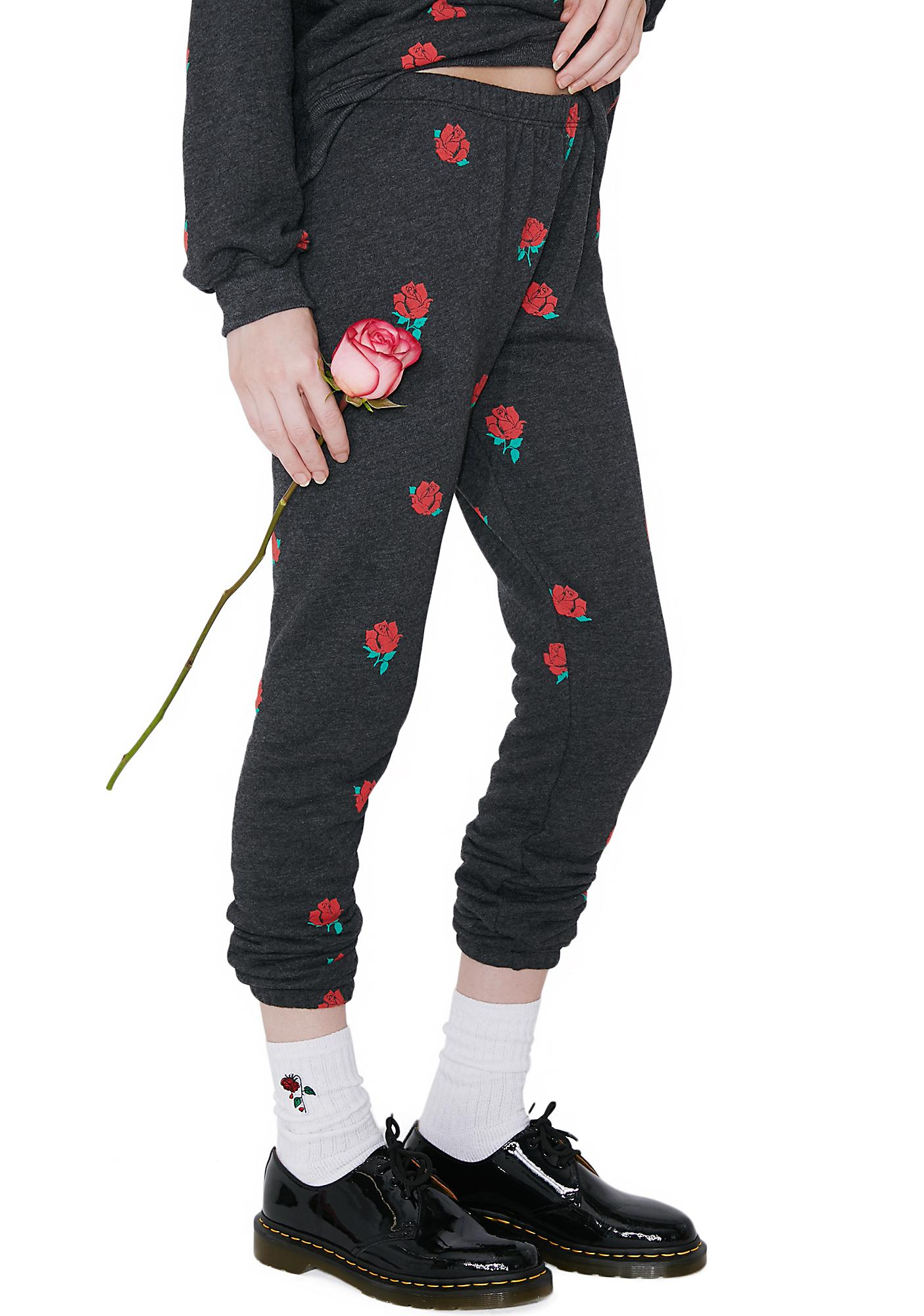 Wildfox Couture Garden Roses Knox Pants