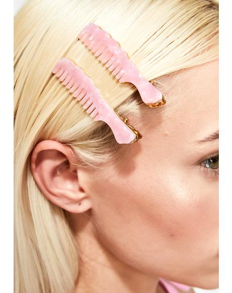 Styled Up Comb Hair Clips