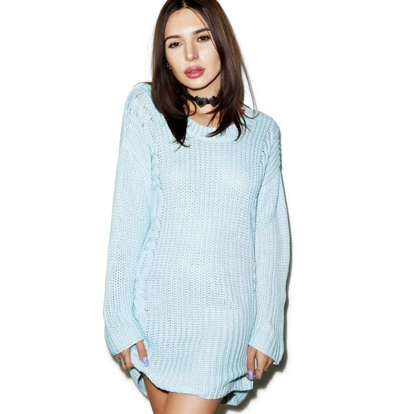 Somedays Lovin Ralphie Cable Knit Dress