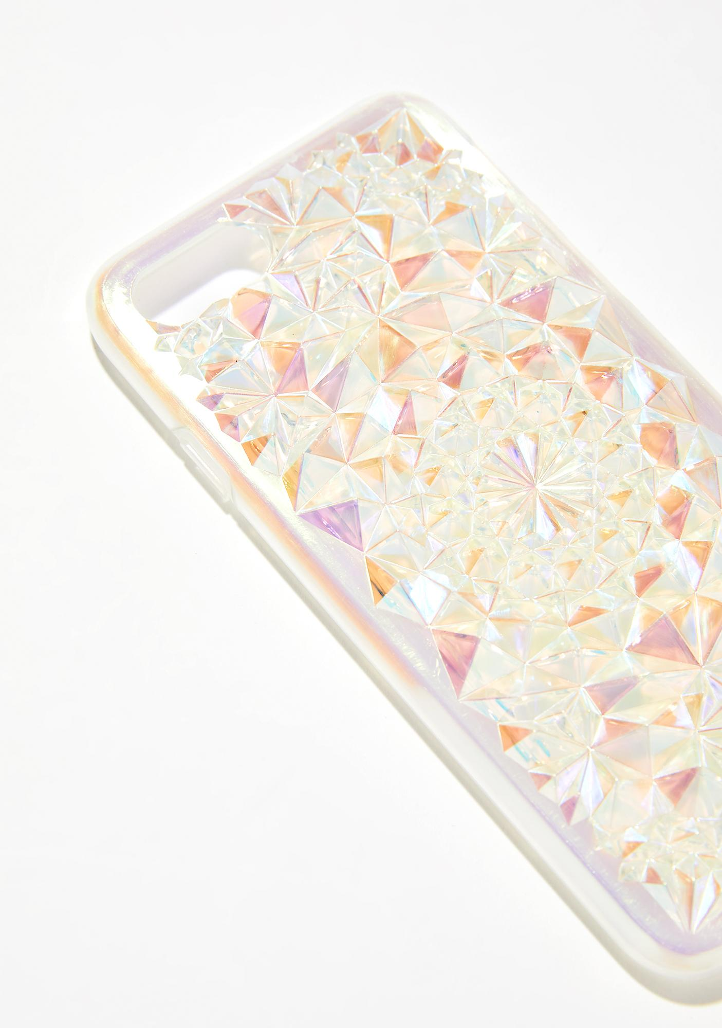 Felony Case Clearly Cosmic Kaleidoscope iPhone Case