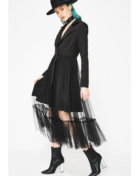 Haunting Honey Blazer Dress