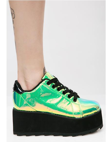 Spacebound Lala Platform Sneakers