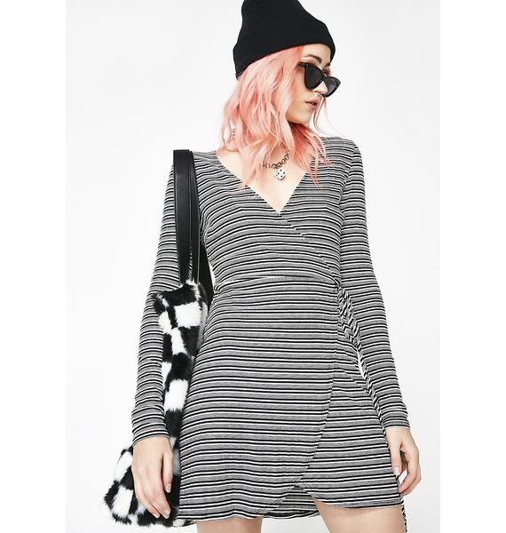 Teen Spirit Wrap Dress