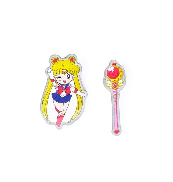 Moon Rod Pin Set