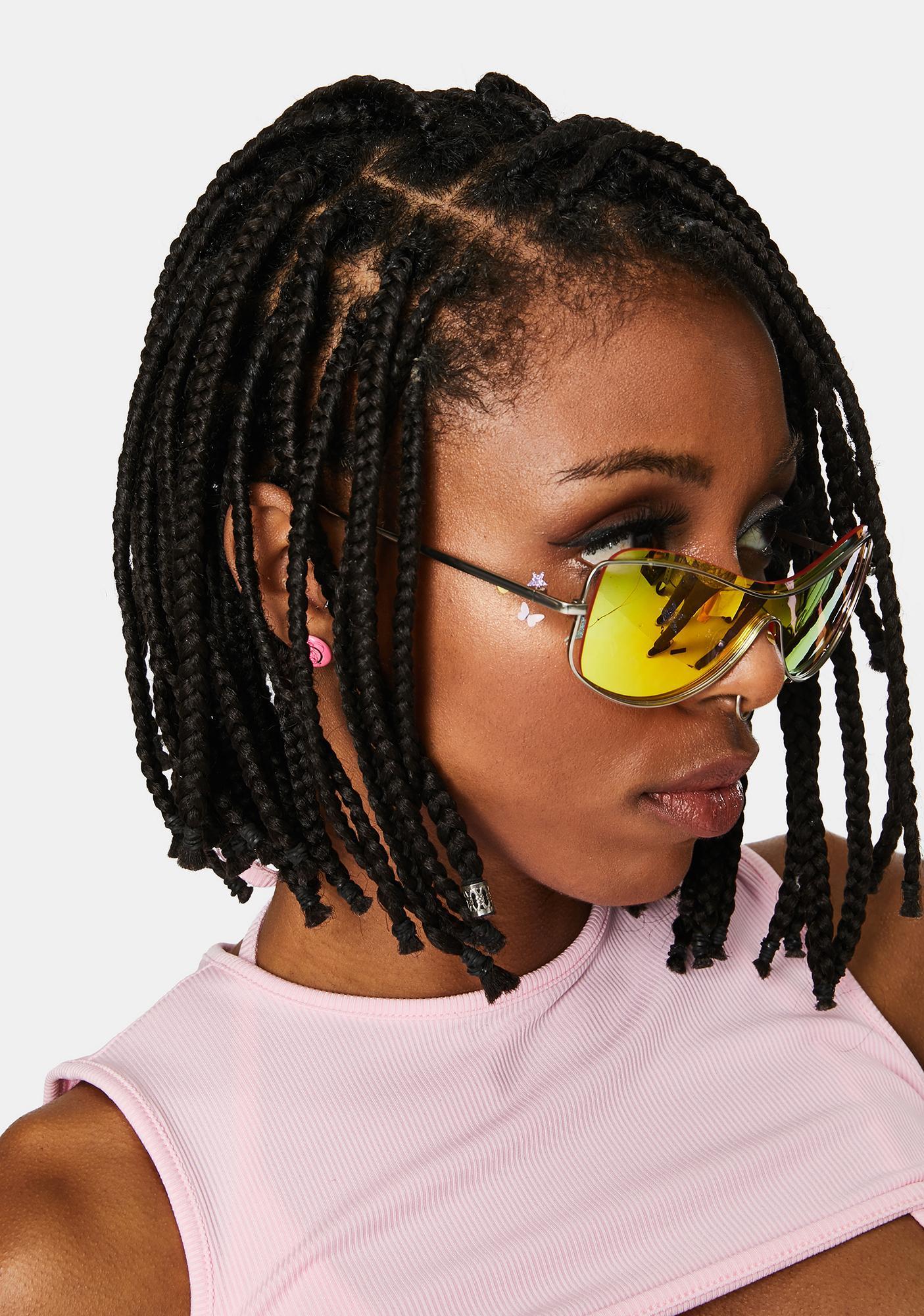 Future Couture Shield Sunglasses