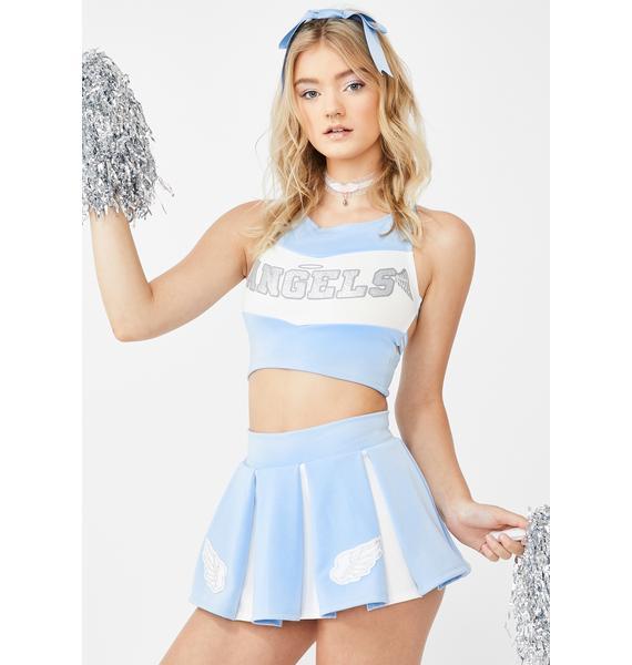 Dolls Kill Heaven's Cheerleader Costume Set