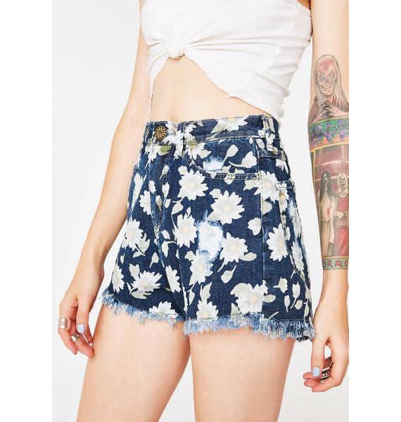 Show Me Your Mumu Daisy Duke Toledo Tear Drop Shorts