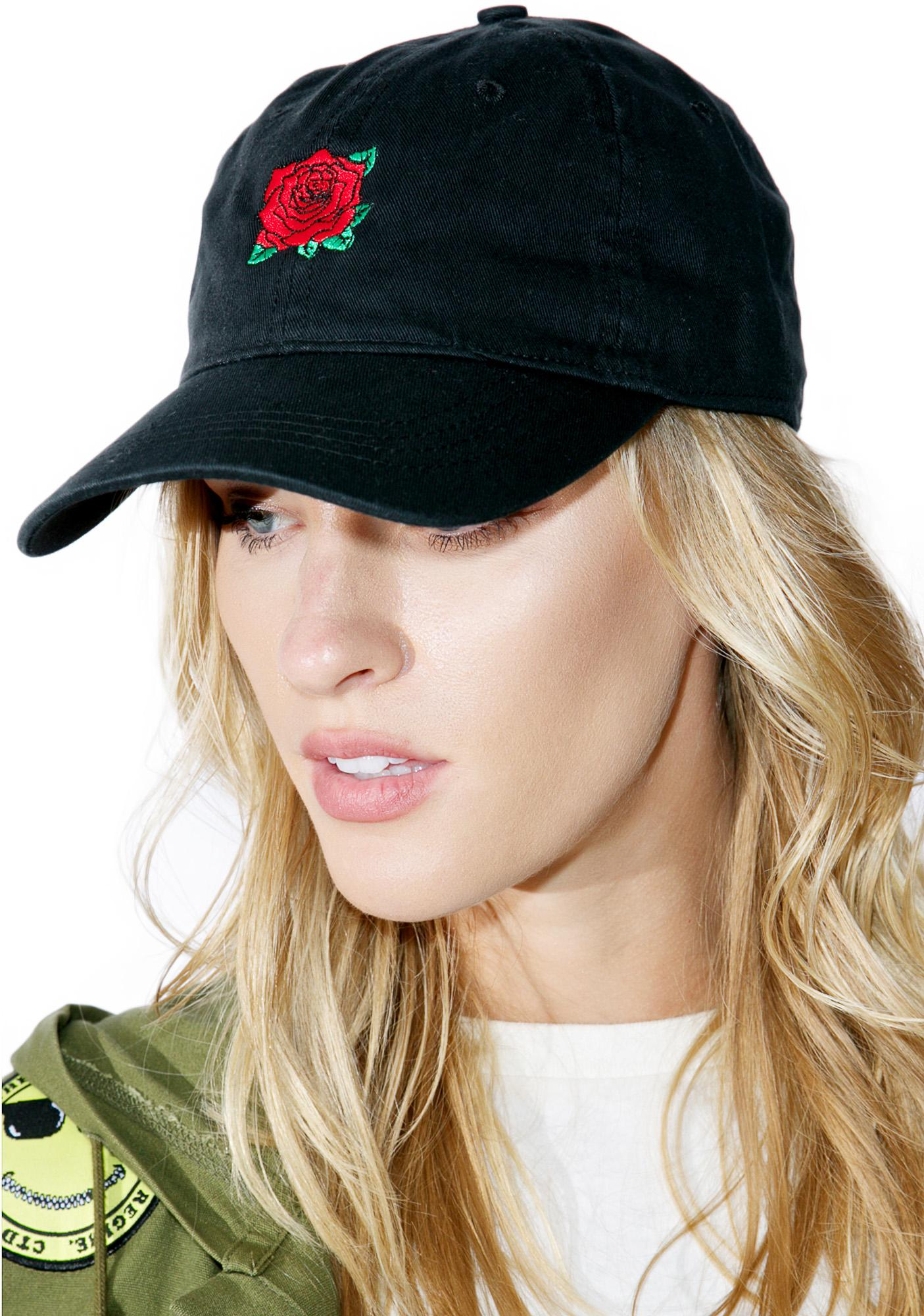 With A Rose Dad Hat