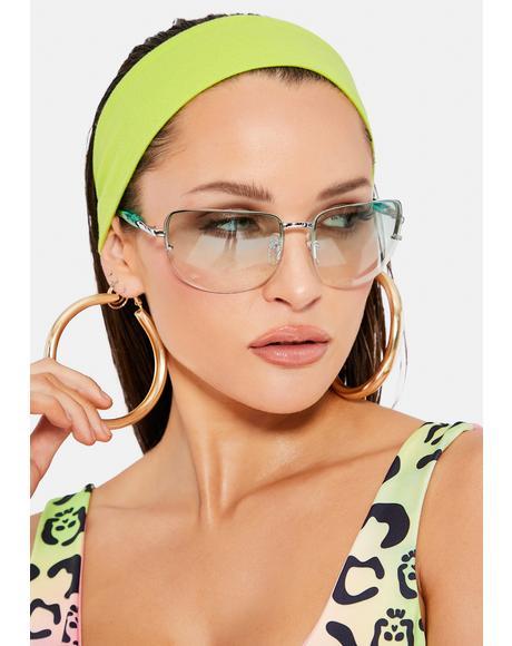 Green Delilah Sunglasses