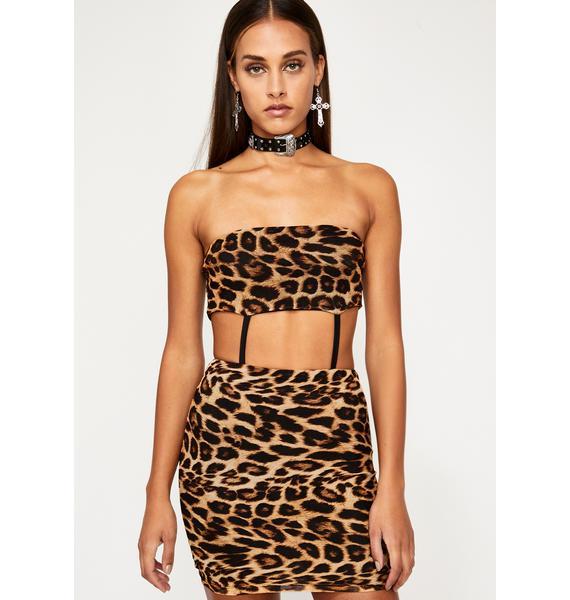 Feelin' Exxxtra Leopard Dress