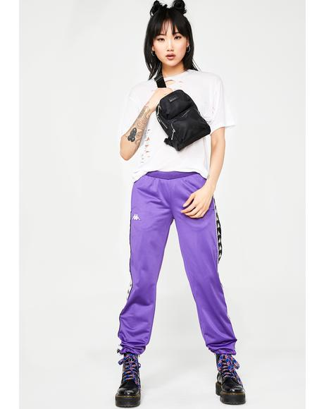 Grape 222 Banda Wastoria Track Pants