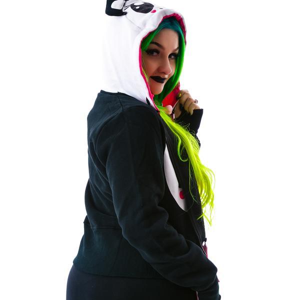 Not So Sad Panda Hoodie
