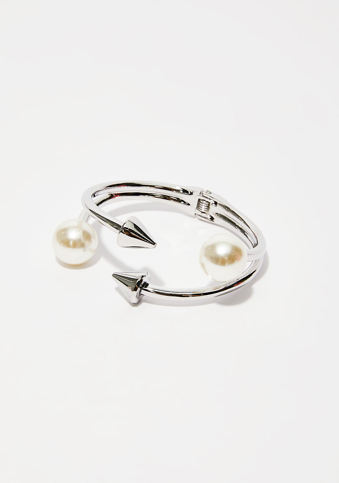 Double The Pleasure Spike Bracelet