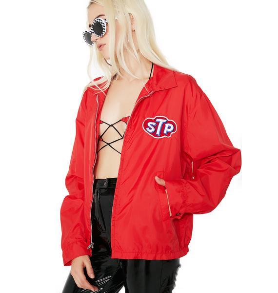 Vintage STP Red Racing Jacket