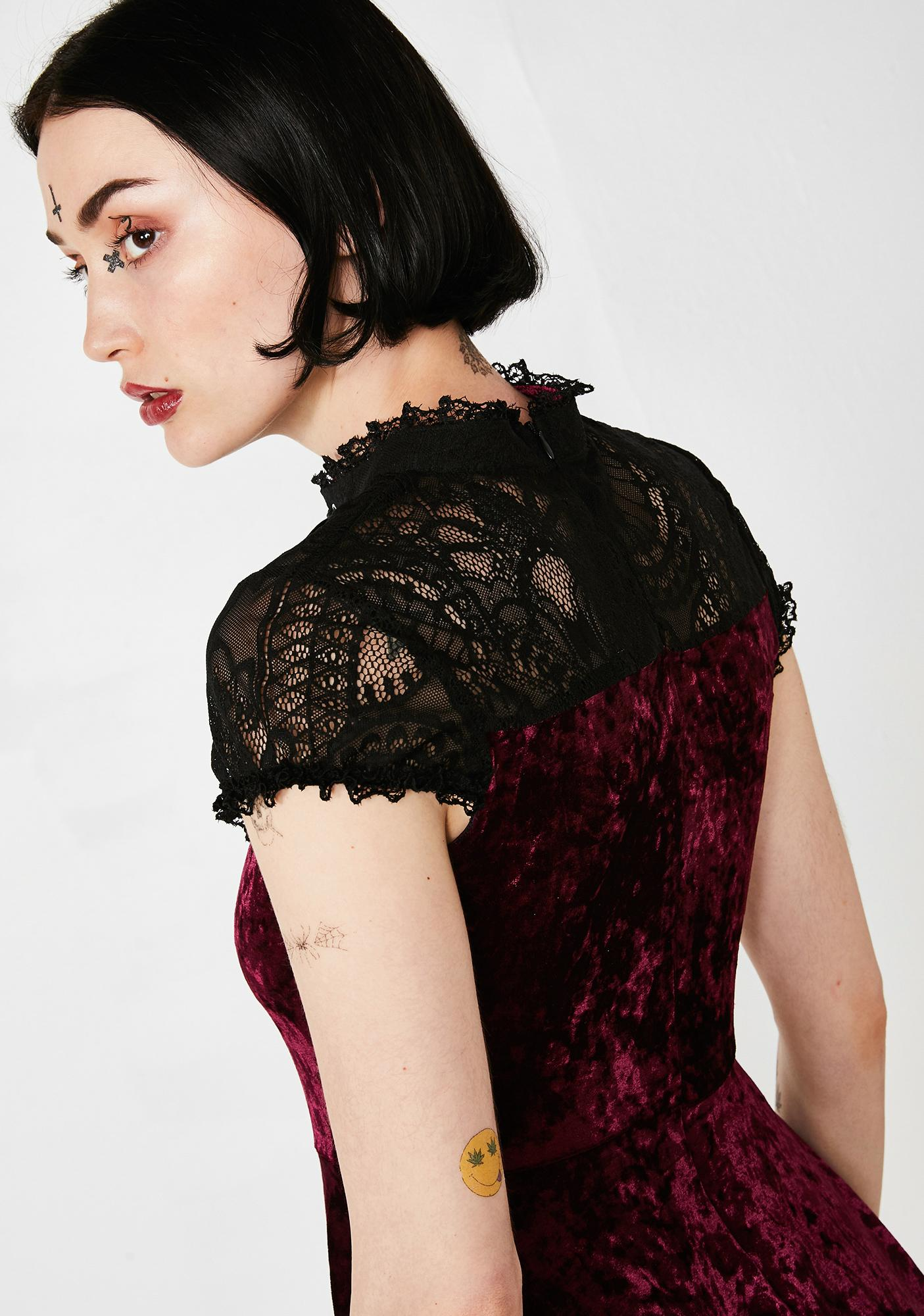 Killstar Astephana Lace Dress