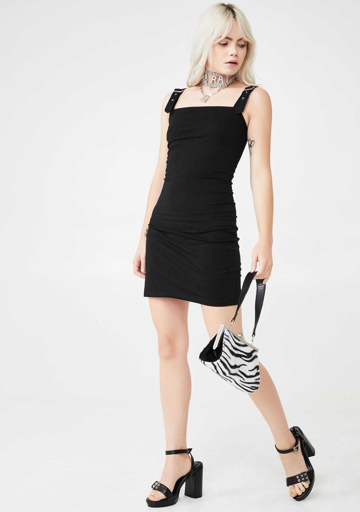 Motel Farlie Buckle Dress