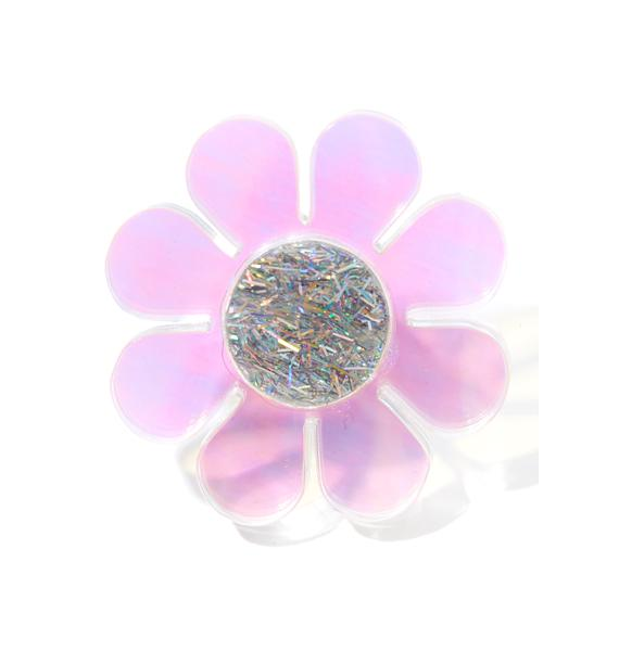 Marina Fini Holographic Flower Ring