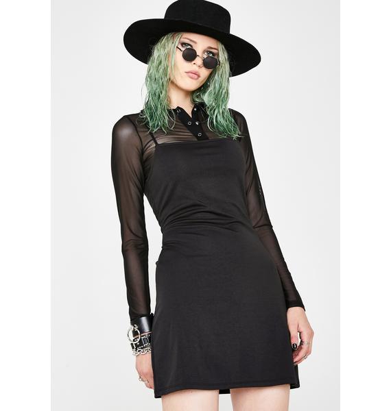 Current Mood Grunge Coven Top N' Dress Set