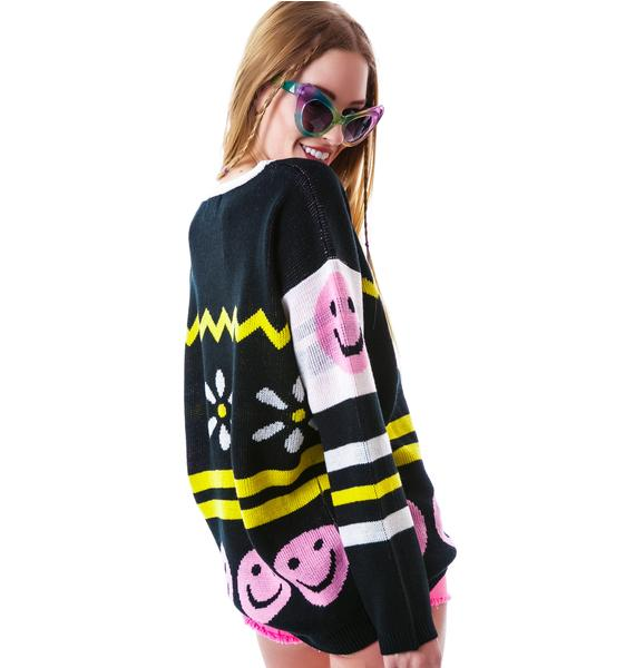 Mink Pink Happy Place Jumper
