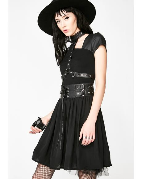 Midnight Muse Harness Dress