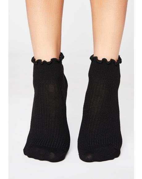 Nice For Wut Ruffle Socks
