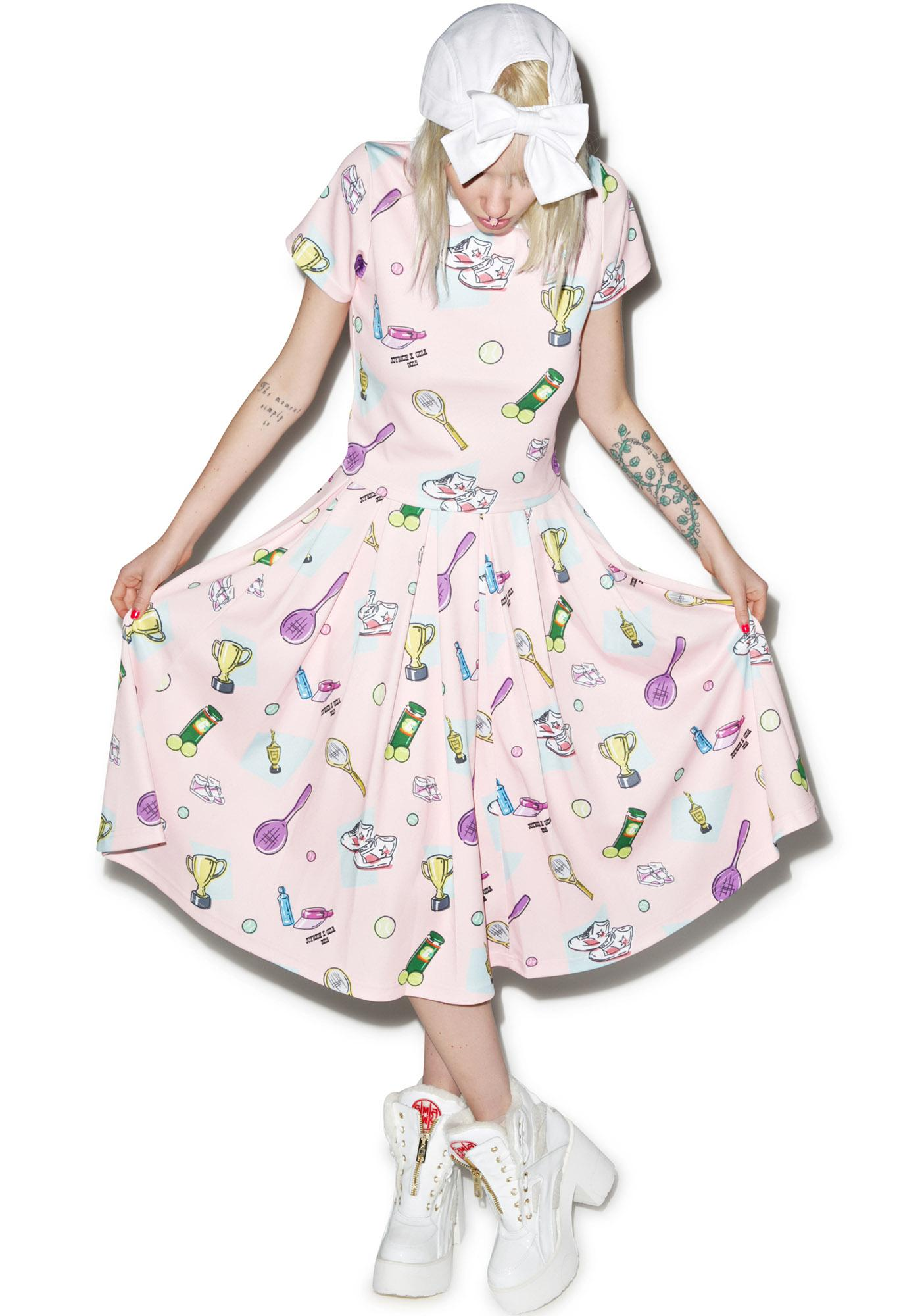 Joyrich X Giza Tennis Club Retro Skirt