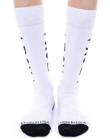 BOY Star Calf Socks