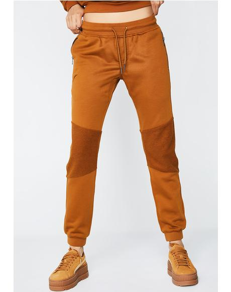 Rust Sophanny Joggers