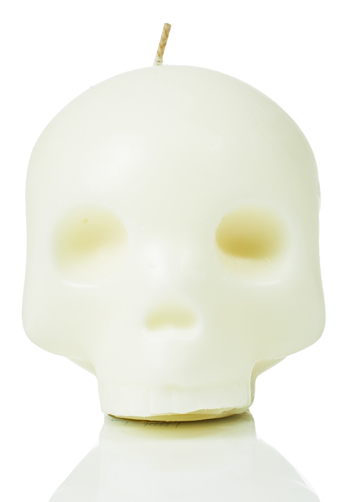 So Dead Emoji Face Candle