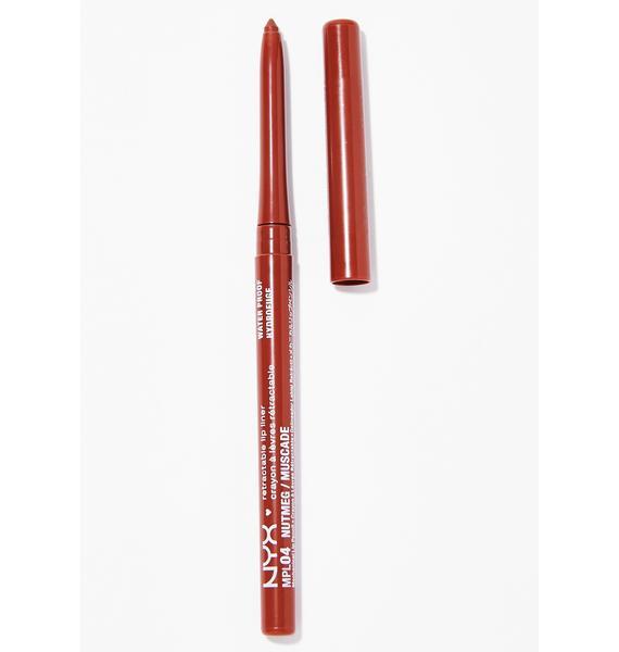 NYX Nutmeg Retractable Lip Liner