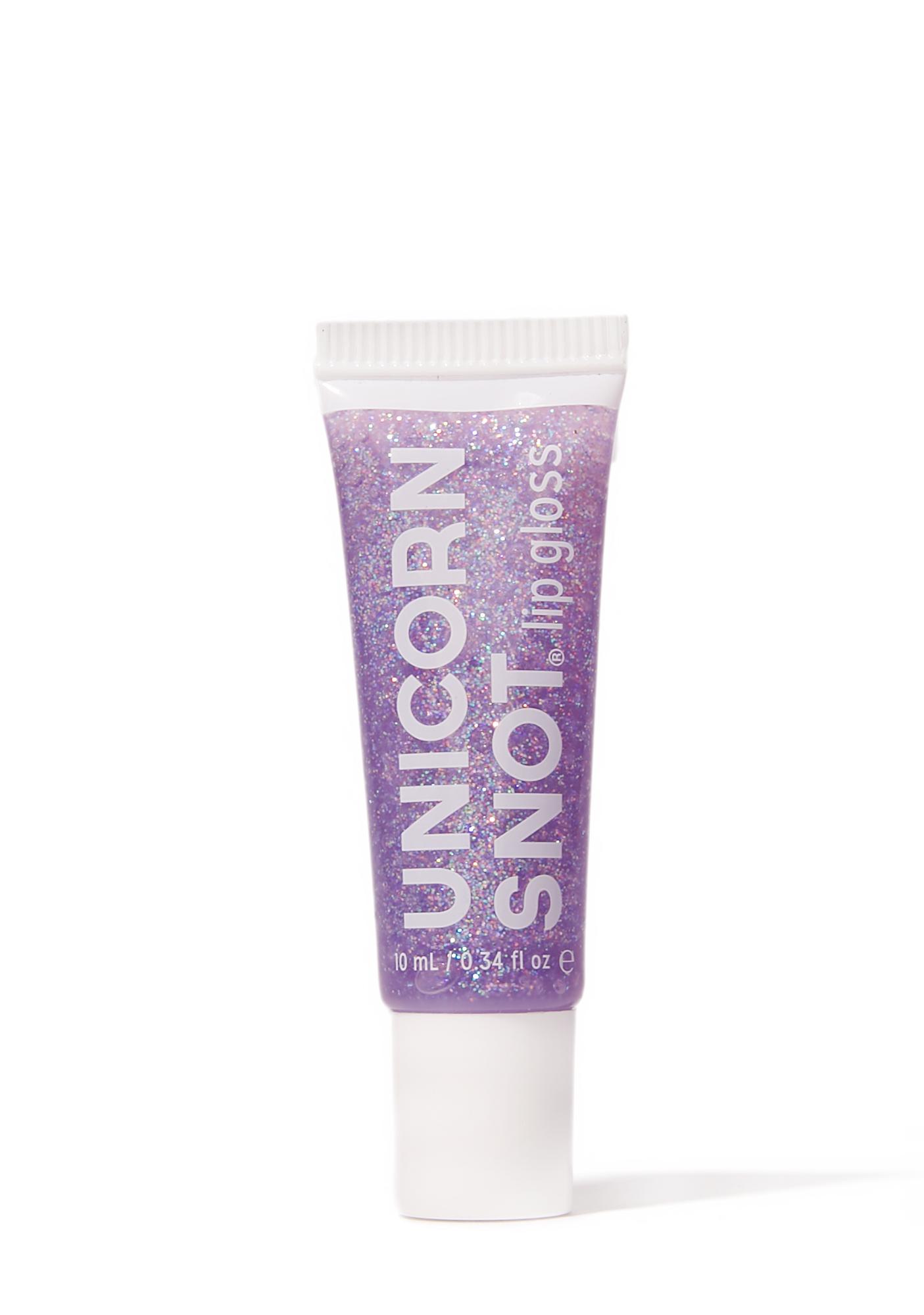 Purple Unicorn Snot Glitter Lip Gloss