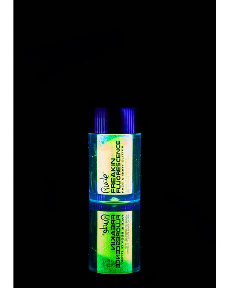 Freakin Fluorescence Trance Dance UV Glitter