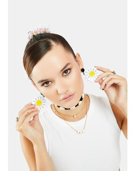 Take Your Pick Daisy Earrings
