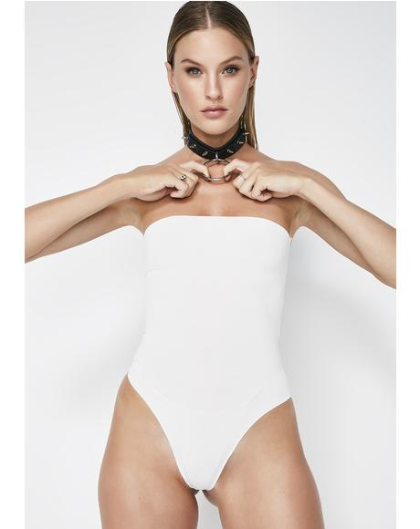 Cloud Run The Show Strapless Bodysuit